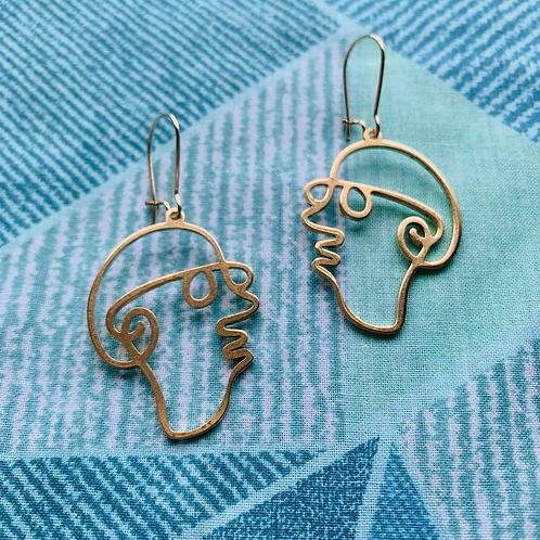 Mr. Magoo Earrings