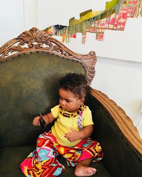 Urban Collars Textile Jewelry - Baby Collar
