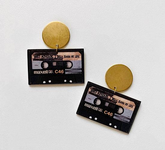 J. Dilla Mix Tape Earrings