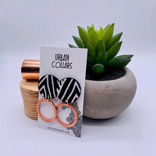 Copper Swazi Earrings