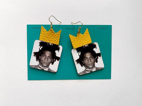 Jean-Michel Basquiat Earrings