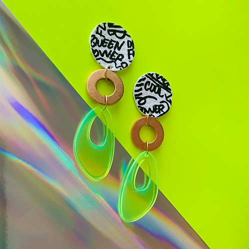 Neon Diary Earrings