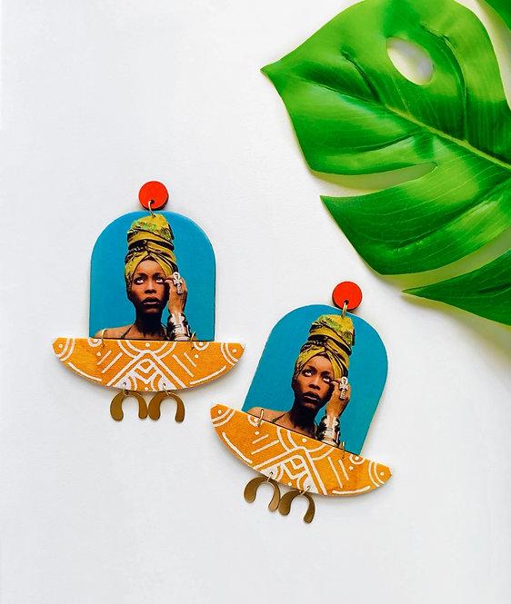 Queen Badu Earrings