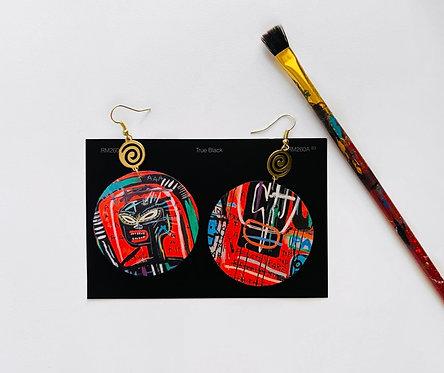 Basquiat 'Skull' Earrings