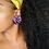 Thumbnail: Coachella - Jumbo Textile Earrings