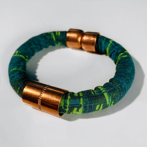 Green Abstract Cuff