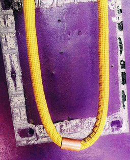Urban Collars Textile Jewelry - Long Collar Necklaces - Streetwear