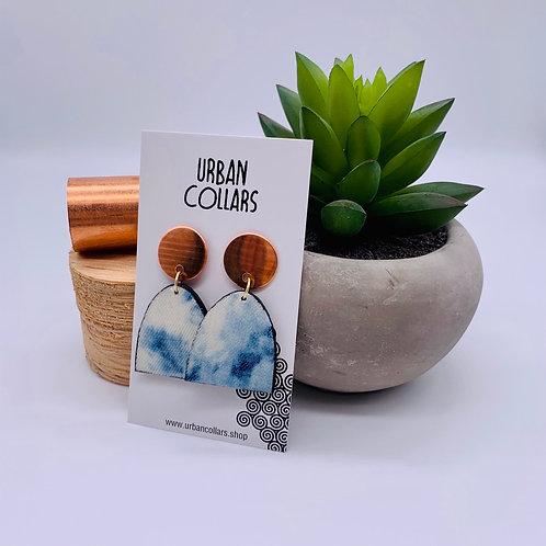 Jean Copper Earrings