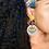 Thumbnail: Mosaic Eye Earrings