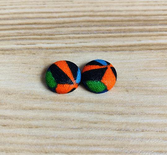 Phoebe - Tiny Textile Earrings