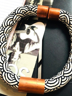 Urban Collars Textile Jewelry - Magnetic Necklace