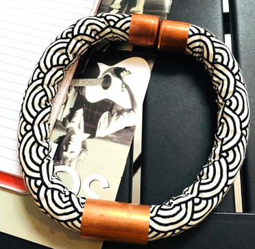 Urban Collars Textile Jewelry - Magnetic Collar Necklaces