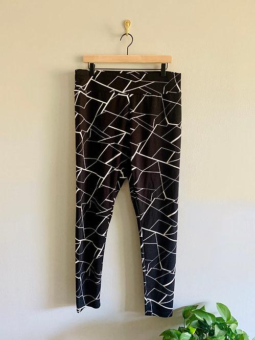 Shein Printed Leggings - Size 1XL