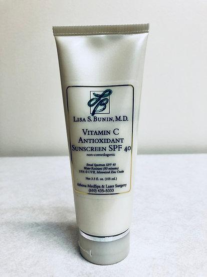 Vitamin C Antioxidant Sunscreen SPF 40 (4 oz.)