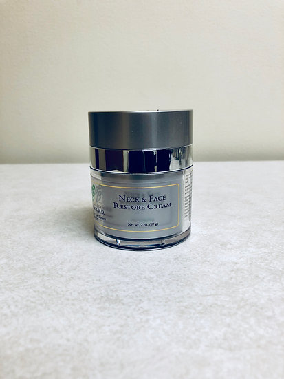 Neck & Face Restore Cream with Phyto Stem Cells (2 oz.)