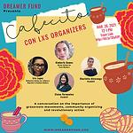 Cafecito Flyer - Con Lxs Organizers - FI