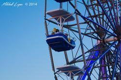 Ferris wheel county fair