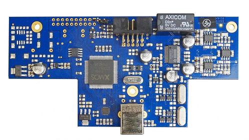 Violectric USB Eingang mit 24 Bit / 192 kHz, X-Mos für Kopfhörer