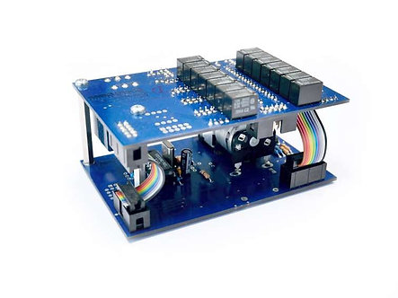 Violectric RRC, Remote control and 128-stage relay assembly through Relais