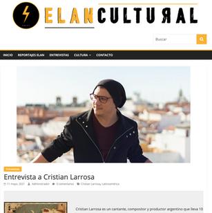 Cristian Larrosa - Elan Cultural