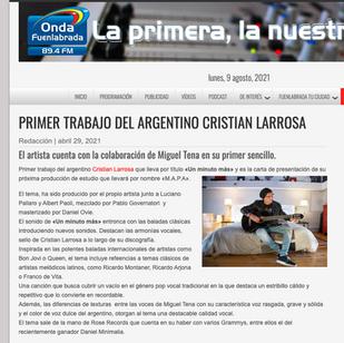Cristian Larrosa - Onda Fuenlabrada
