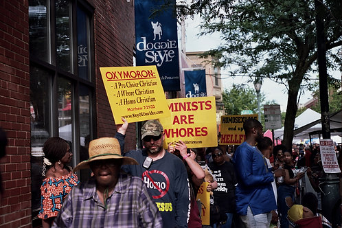 Odunde Fest & Pride Parade Protesters 2019