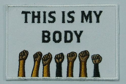 Bodily Autonomy Iron On Patch