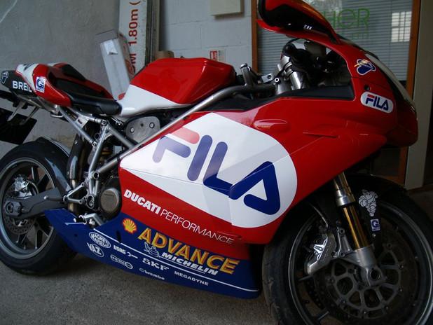 Motorbike decals
