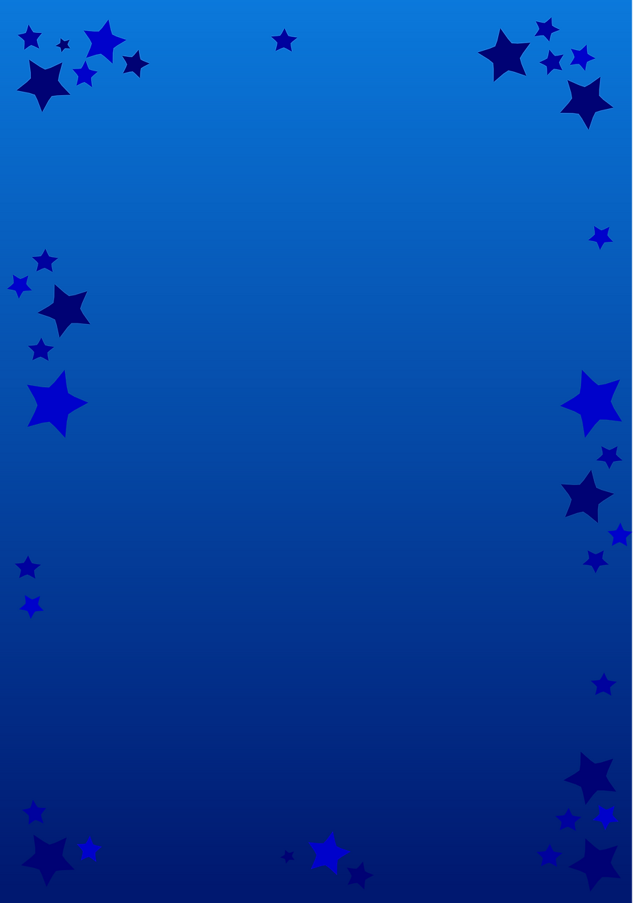 Blue star graphic