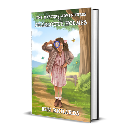 The Mystery Adventures of Charlotte Holmes (Book) - SIGNED COPY!