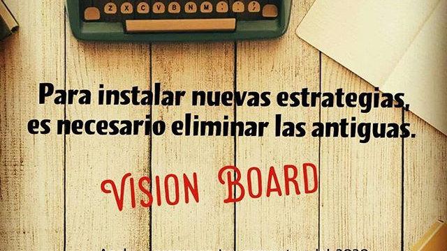 TALLER VISION BOARD 2020