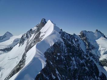 Tournage au Piz Bernina, 4049m