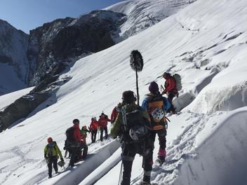 L'Albaron (3637m) pour le Téléthon