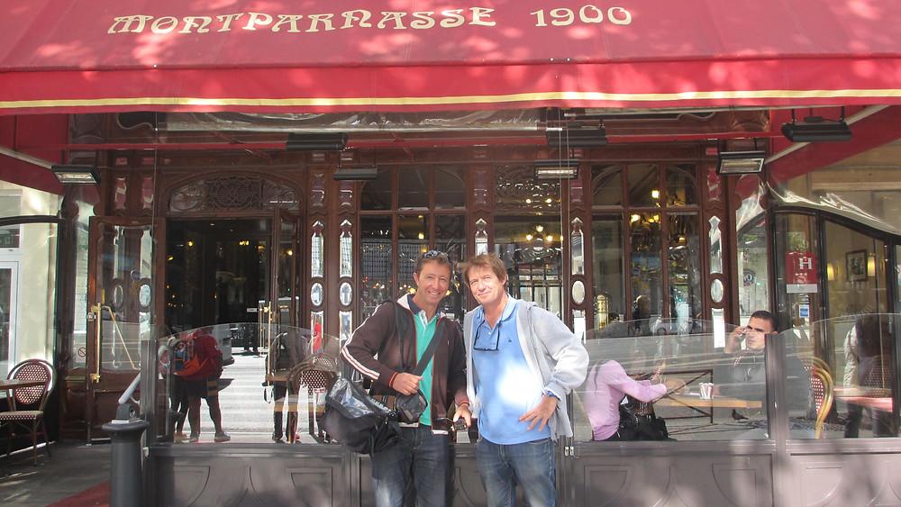 Avec Eric Falaizeau - Chef Operateur