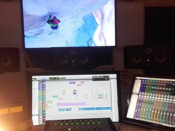 Mixages au studio Gaïné