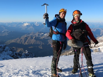 Tournage au Mont Blanc