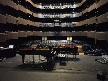 Captation à l'Opéra de Lyon