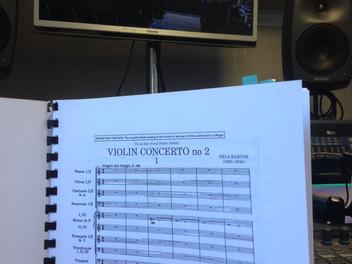 Enregistrement du Verbier Festival Orchestra
