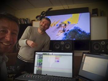 Enregistrement voix avec Stéphane Durand
