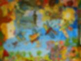 Peinture - Réalisation Collective del'Atelier Peinture du Centre d'Accueil de Jour