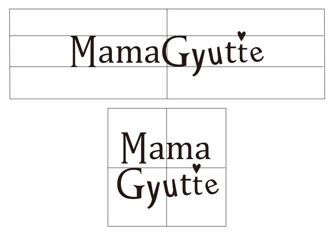 Mama Gyutte | ロゴデザイン