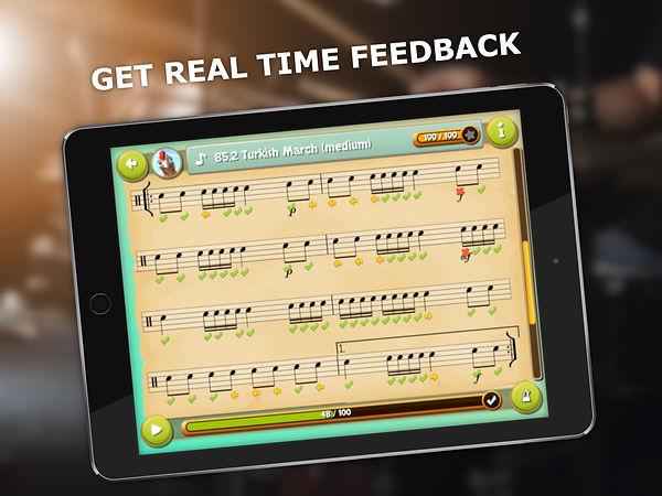 3 ipad 2732 x 2048 get real time feedbac