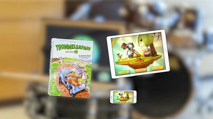 Trommelsafari App Trailer EN