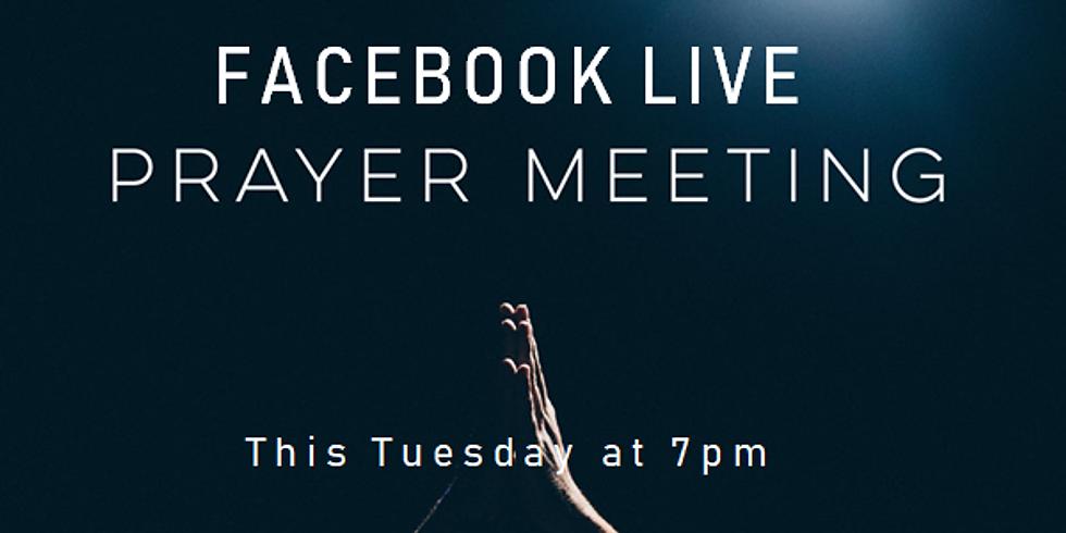 Prayer Meeting - Online via Facebook Live
