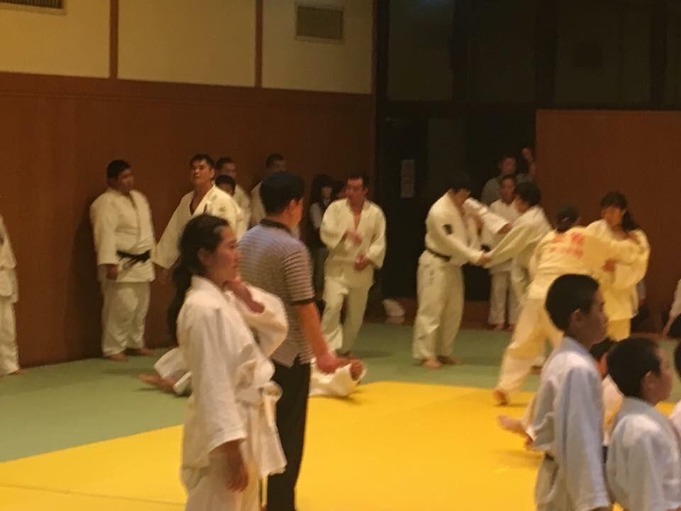 北区柔道合同練習2