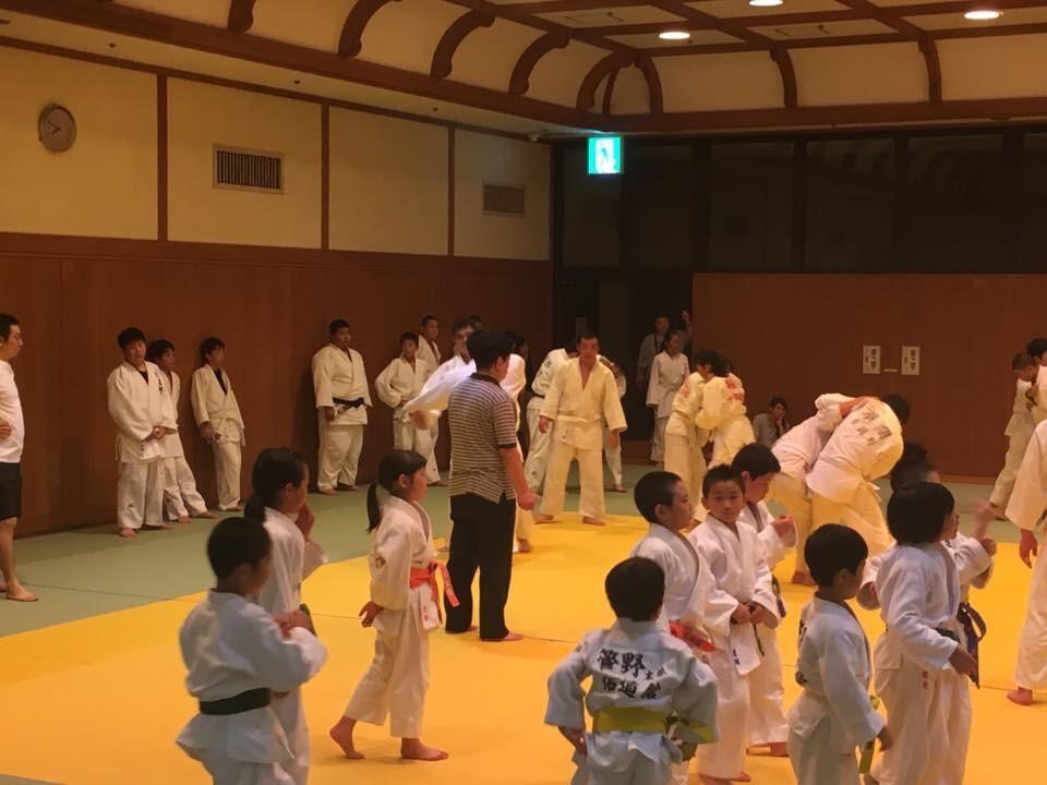 北区柔道合同練習3
