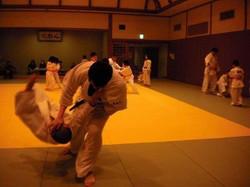 北区柔道練習1