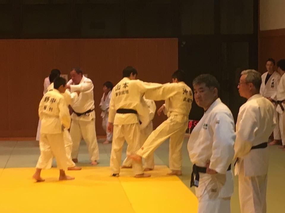 北区柔道合同練習1