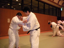 北区柔道練習2