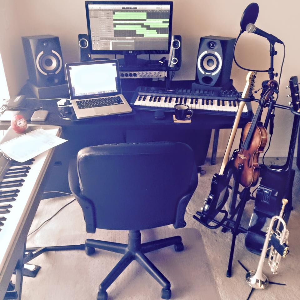 Luke Flynn's Home Studio
